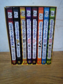 Dairy of a wimpy kid 8 books