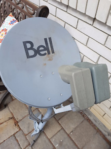 Bell Satellite Dish HD LNBs and SW44 switch