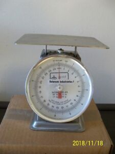 INDUSTRIAL BALANCE SCALE  FOR UP TO 11 KG (25 LBS)