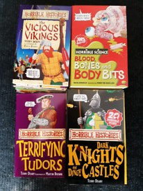 Horrible Histories 4 series 30 books