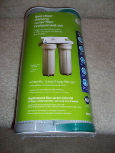 GE FXSVC Dual Stage Drinking Water Replacement Filters
