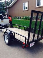 2014 5x10 big tex utility/atv/landscape trailer