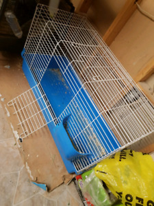 Large rabbit cage, used but in great condition!