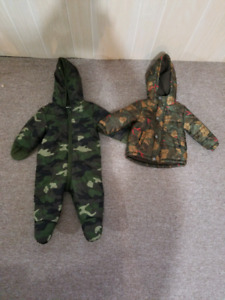 Full snowsuit and jacket