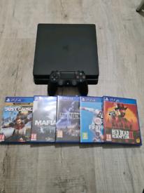 Playstation 4 slim 5 games