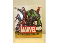 NEW Marvel Year By Year - A Visual Chronicle - hard back book, perfect for Christmas!