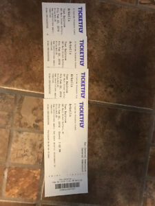 4 tickets for Arkells Town Ballroom