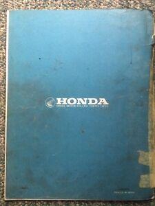 1973 Honda XR75 Parts List Regina Regina Area image 3