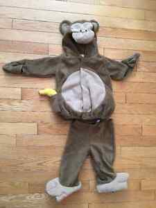 Monkey Costume- Old Navy 12-24 mos