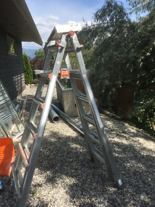 Handi Ladder with accesories. 1/2 price of new