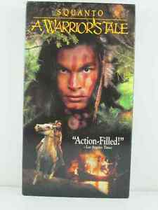 "SQUANTO A WARRIOR""S TALE VHS TAPE DISNEY MOVIE"