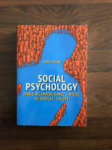 Social Psychology :  Eighth Edition : Westview Press