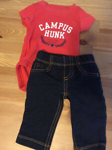 newborn Boys Carters outfit