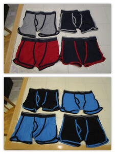 8x Boys Boxer Briefs in size Med (10/12) *Never worn