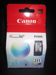 [NEW] CANON CL-211 COLOR INK PRINTER CARTRIDGE (IN PACKAGE).