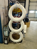 "24"" LIFE RING  WHITE   CCG APPROVED  $103.46 EA Kitchener / Waterloo Kitchener Area Preview"