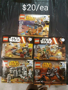 Brand New Lego Sets For Sale Star Wars and Super Heroes