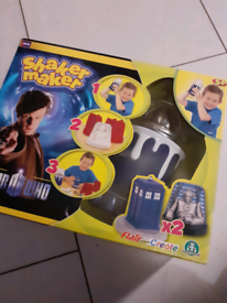 Shaker maker toy £49 on amazon Doctor Who crafts make and paint 5+