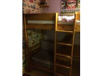 Pine high sleeper/ cabin bed