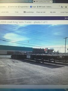 2004 Lode King Semi Trailer