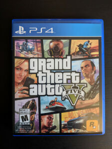 Grand Theft Auto 5 Five Playstation 4 PS4