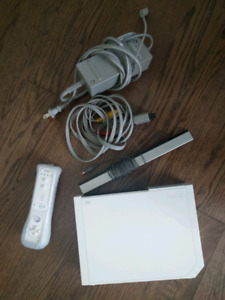 Wii console and wii remote