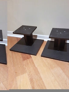 Speaker stands - black