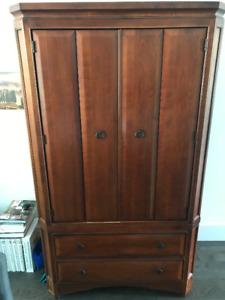Dresser / Wardrobe by Ethan Allen or Thomasville (Solid Wood)