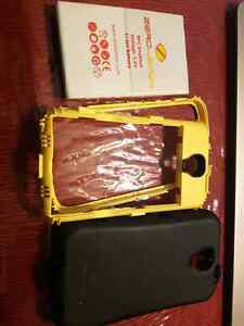 Samsung s4 extended zero lemon battery with cover
