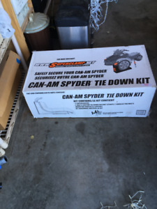 NEW: Can Am Spyder Tie Down Kit.