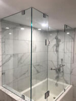SHOWER GLASS DOOR FRAMELESS ENCLOSURES | Framed Shower / Tub Enc
