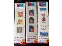3x Winnie the Pooh Bookmark Kits