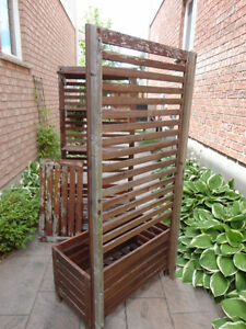 Two Red Cedar Planter Box With Trellis and Shelves -$120.00/ea Kitchener / Waterloo Kitchener Area image 4