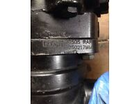 Hydraulic pump for mini digger or other machinery tractor