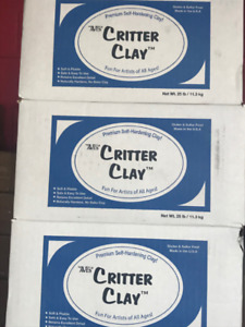 Aves Critter Clay - Self Hardening Clay for Sculpting, Taxidermy