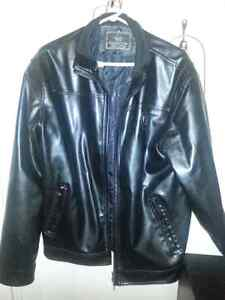 Italian leather coat...selling everything to get my son back.. London Ontario image 3