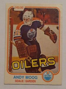 Andy Moog- Rookie Card - O-Pee Chee 1981