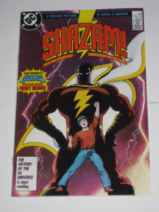 DC Comics Shazam!#'s 1,2,3 & 4 vs Black Adam set! comic book