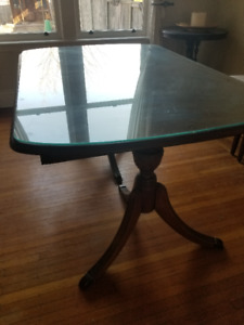 Solid woodAntique dining table