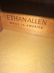 Ethan Allen Cherry Wood Desk Strathcona County Edmonton Area image 1