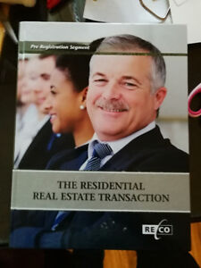 The Residential Real Estate Transaction - Pre-Registration Used