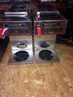 Pair of newco commercial coffee machines