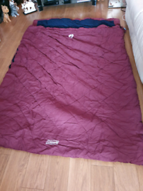 Coleman vail double sleeping bag