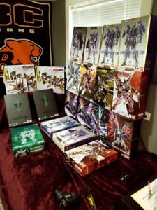 Metal Build Gundams
