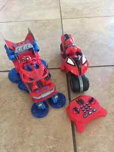 Spiderman Remote control car and toy