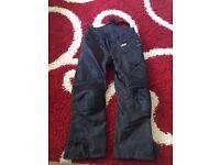 Motorbike jacket/trousers