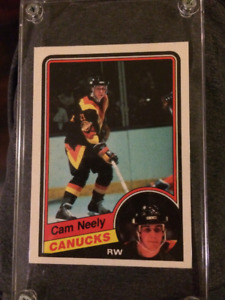 Cam Neely Rookie Card