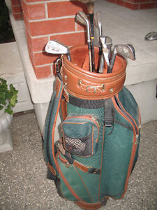 Golf clubs - men's right hand with bag Kitchener / Waterloo Kitchener Area image 2