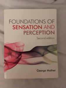 Foundations of Sensation and Perception - George Mather