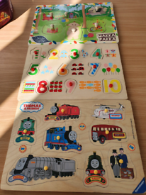 Wooden peg puzzles can post